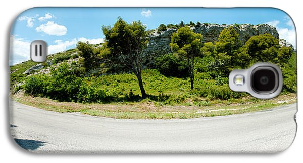 Mountain Road Galaxy S4 Cases - Curve In The Road, Bouches-du-rhone Galaxy S4 Case by Panoramic Images