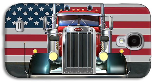 Recently Sold -  - 4th July Galaxy S4 Cases - Custom Peterbilt 2 Galaxy S4 Case by Stuart Swartz