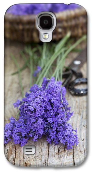 Cut Flowers Galaxy S4 Cases - Cut Lavender Galaxy S4 Case by Tim Gainey