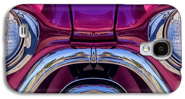 Clever Galaxy S4 Cases - Cute Little Car Faces Number 7 Galaxy S4 Case by Carol Leigh
