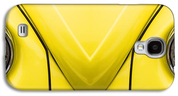 Clever Galaxy S4 Cases - Cute Little Car Faces Number 8 Galaxy S4 Case by Carol Leigh