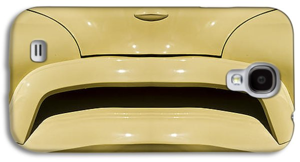 Clever Galaxy S4 Cases - Cute Little Car Faces Number 9 Galaxy S4 Case by Carol Leigh