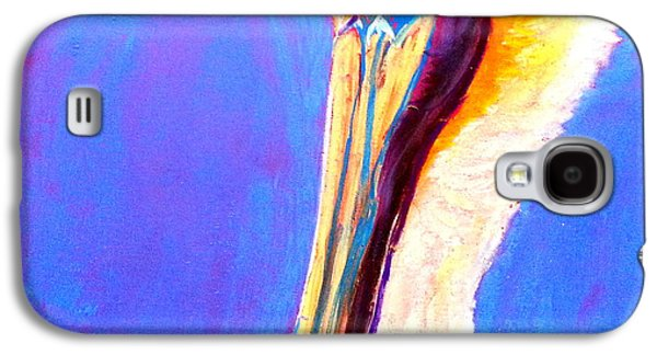 Drawing Galaxy S4 Cases - Cute Pelican Galaxy S4 Case by Sue Jacobi