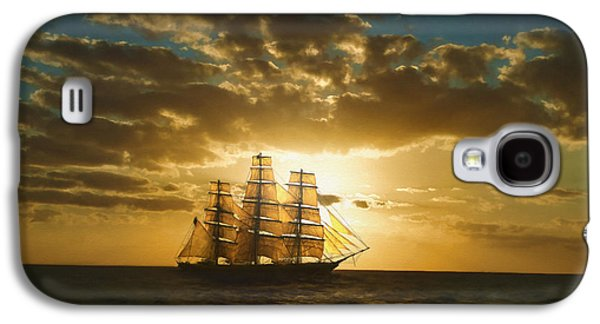 Ocean Sailing Galaxy S4 Cases - Cutty Sark Galaxy S4 Case by Dale Jackson