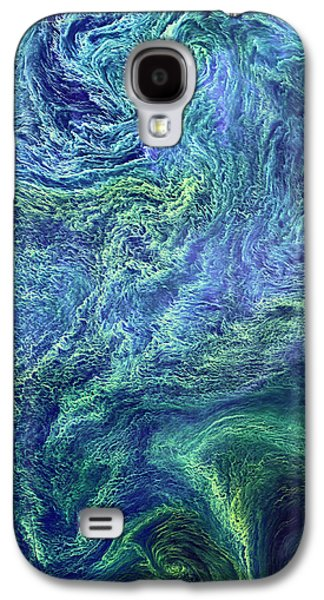Cyanobacteria Bloom Galaxy S4 Case by Nasa