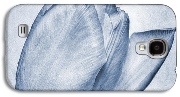 Stamen Digital Galaxy S4 Cases - Cyanotype Tulip Galaxy S4 Case by John Edwards