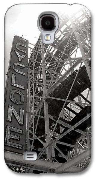 Cyclone Rollercoaster - Coney Island Galaxy S4 Case by Jim Zahniser
