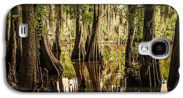 Tamyra Ayles Galaxy S4 Cases - Cypress Knees on Caddo Lake Galaxy S4 Case by Tamyra Ayles
