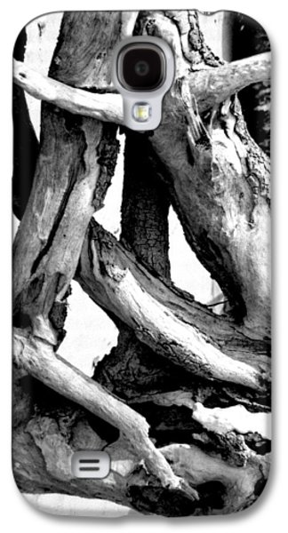 Tree Roots Mixed Media Galaxy S4 Cases - Cypress Princess Galaxy S4 Case by Gustave Kurz