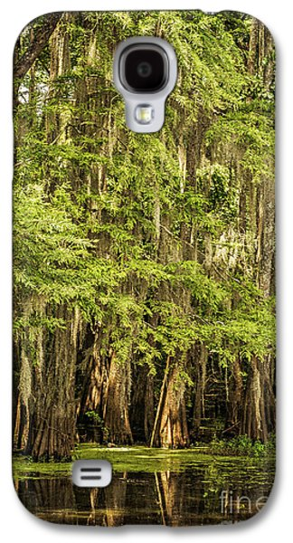 Tamyra Ayles Galaxy S4 Cases - Cypress Reflection on Caddo Lake II Galaxy S4 Case by Tamyra Ayles