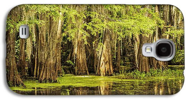Tamyra Ayles Galaxy S4 Cases - Cypress Reflection on Caddo Lake Galaxy S4 Case by Tamyra Ayles