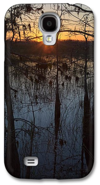 Cypress Swamp At Sunrise Galaxy S4 Case by Jim West