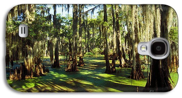 Cypress Swamp Galaxy S4 Cases - Cypress Swamp Galaxy S4 Case by Gregory G. Dimijian
