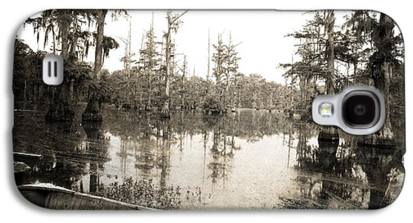 Louisiana Photographs Galaxy S4 Cases - Cypress Swamp Galaxy S4 Case by Scott Pellegrin