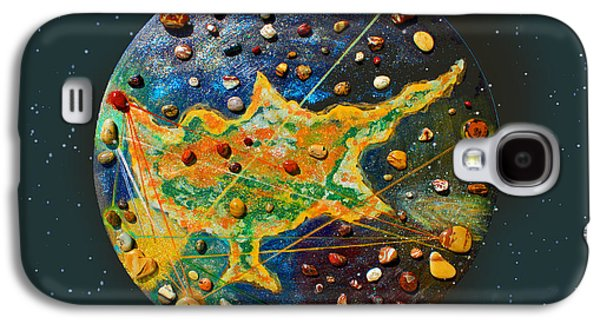 Chart Paintings Galaxy S4 Cases - Cyprus Stars Galaxy S4 Case by Augusta Stylianou