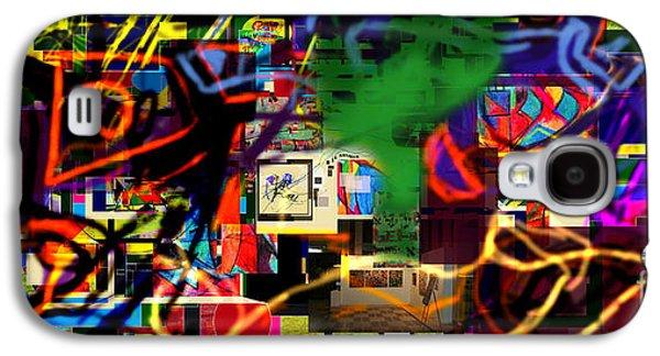 Inner Self Galaxy S4 Cases - Daas 13d Galaxy S4 Case by David Baruch Wolk