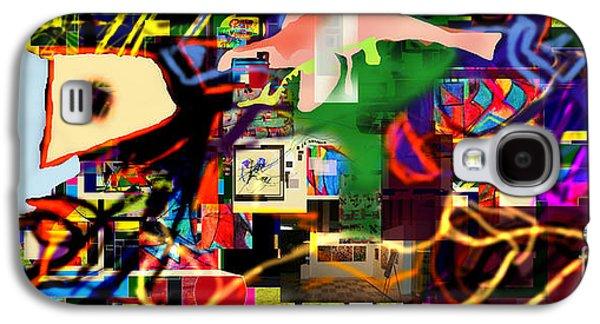 Inner Self Galaxy S4 Cases - Daas 13e Galaxy S4 Case by David Baruch Wolk