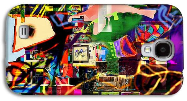Inner Self Galaxy S4 Cases - Daas 13g Galaxy S4 Case by David Baruch Wolk