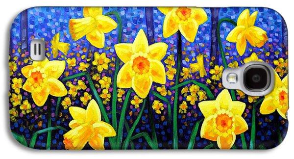 Edition Galaxy S4 Cases - Daffodil Dance Galaxy S4 Case by John  Nolan
