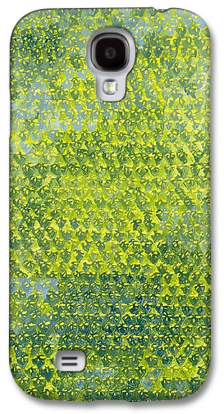Spring Bulbs Paintings Galaxy S4 Cases - Daffodils Galaxy S4 Case by Leigh Glover