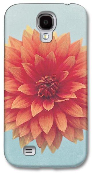 Simplistic Galaxy S4 Cases - Dahlia Galaxy S4 Case by Jessie Gould