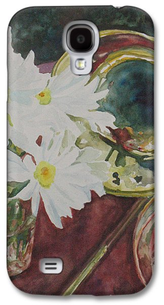 Daisies Bold As Brass Galaxy S4 Case by Jenny Armitage