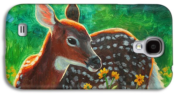 Daisy Deer Galaxy S4 Case by Crista Forest