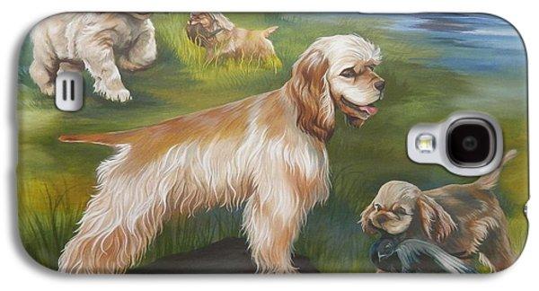Dog Retrieving Galaxy S4 Cases - Daisy Galaxy S4 Case by Dixie Andrew