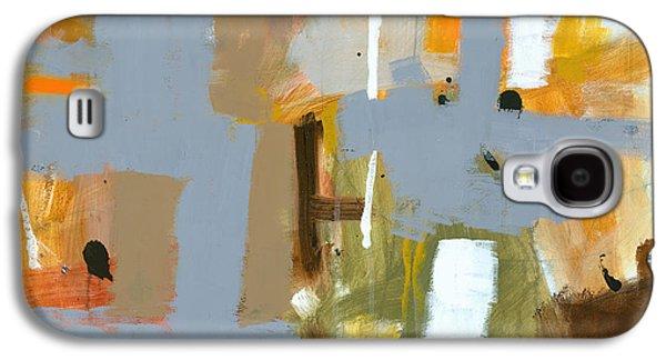 Abstractions Paintings Galaxy S4 Cases - Dakota Street 6 Galaxy S4 Case by Douglas Simonson