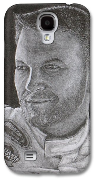 Quaker Drawings Galaxy S4 Cases - Dale Earnhardt Jr. 2 Galaxy S4 Case by Rick Yanke