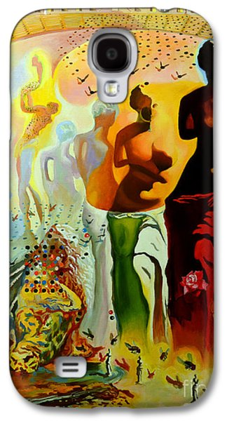Thought Galaxy S4 Cases - Dali Oil Painting Reproduction - The Hallucinogenic Toreador Galaxy S4 Case by Mona Edulesco