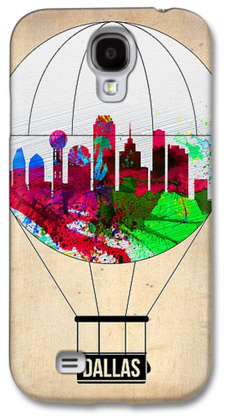 Balloons Galaxy S4 Cases - Dallas Air Balloon Galaxy S4 Case by Naxart Studio