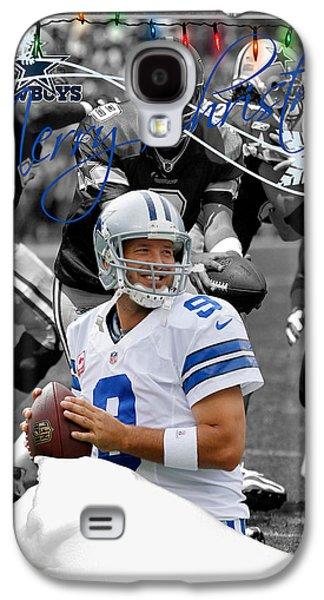 Cowboy Photographs Galaxy S4 Cases - Dallas Cowboys Christmas Card Galaxy S4 Case by Joe Hamilton