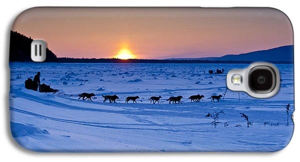 Dallas Seavey On The Yukon River Galaxy S4 Case by Jeff Schultz