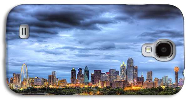 Bridge Galaxy S4 Cases - Dallas Skyline Galaxy S4 Case by Shawn Everhart