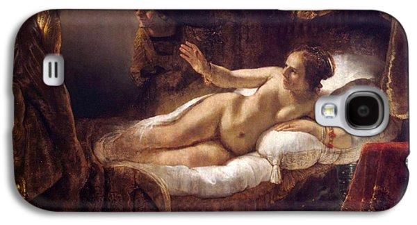 1636 Paintings Galaxy S4 Cases - Danae Galaxy S4 Case by Rembrandt van Rijn