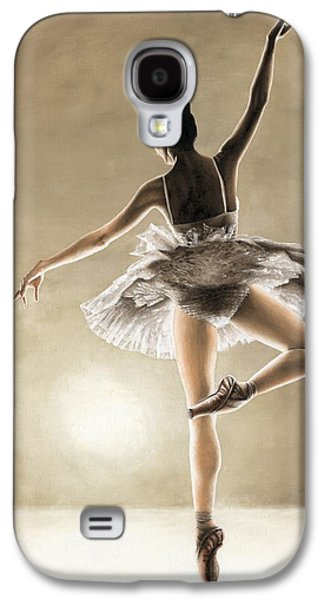 Tutus Paintings Galaxy S4 Cases - Dance Away Galaxy S4 Case by Richard Young