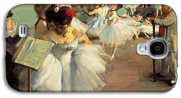 Dance Examination Galaxy S4 Case by Edgar Degas