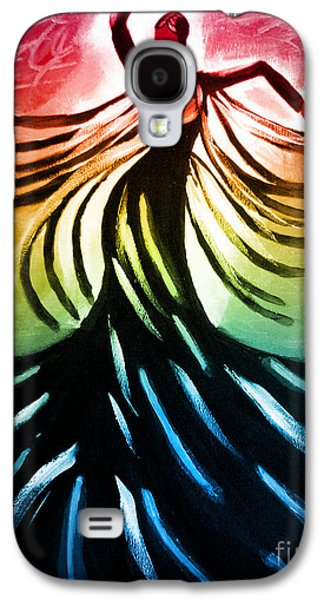 Photo Manipulation Paintings Galaxy S4 Cases - Dancer 3 Galaxy S4 Case by Anita Lewis