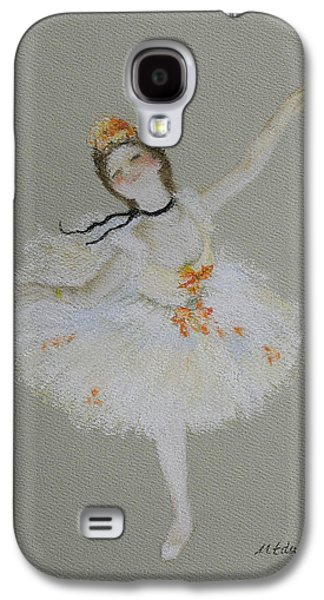 Ballet Dancers Pastels Galaxy S4 Cases - Dancer Galaxy S4 Case by Marna Edwards Flavell