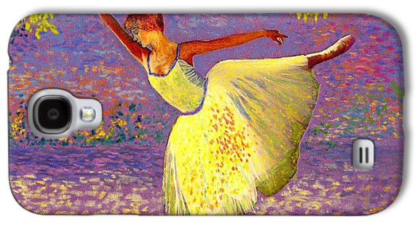 Kid Galaxy S4 Cases - Dancing for Joy Galaxy S4 Case by Jane Small