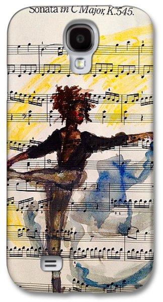 African-american Galaxy S4 Cases - Dancing in the dark. Galaxy S4 Case by Sarah Brown