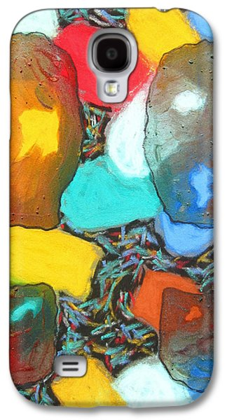 Dance Floor Paintings Galaxy S4 Cases - Dancing Shoes Galaxy S4 Case by Russell Zellers