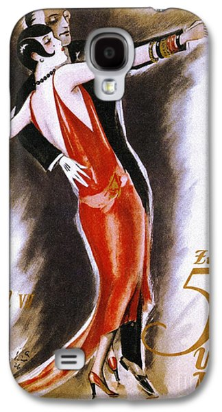 Austria Drawings Galaxy S4 Cases - Dancing The Tango Galaxy S4 Case by Granger