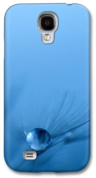 Blue Galaxy S4 Cases - Dandelion Jewel 2 Galaxy S4 Case by Rebecca Cozart