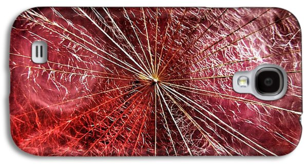 Dandelion Seed Abstract Galaxy S4 Case by Marianna Mills