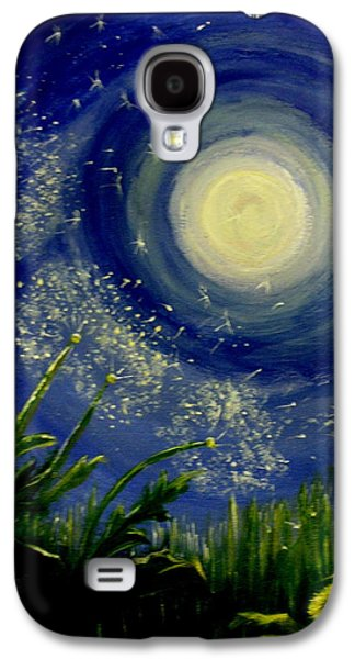 Windblown Paintings Galaxy S4 Cases - Dandy  Magic Galaxy S4 Case by Tammy Rogers