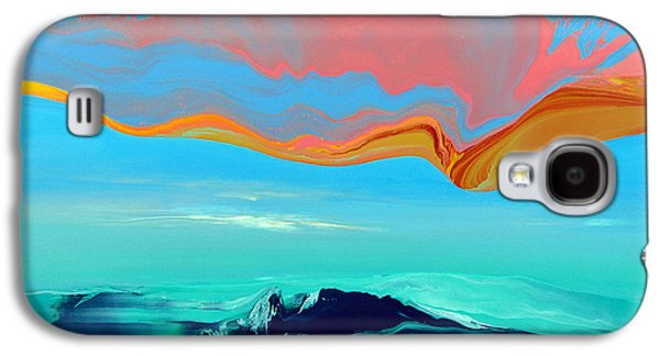 Abstracted Galaxy S4 Cases - Dangerous Waters V Galaxy S4 Case by Jacob Jugashvili