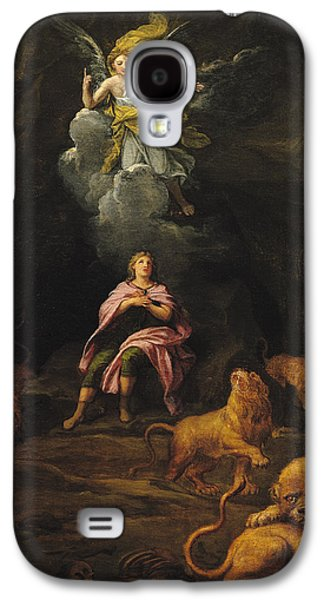 Growling Galaxy S4 Cases - Daniel In The Den Of Lions Oil On Canvas Galaxy S4 Case by Francois Verdier
