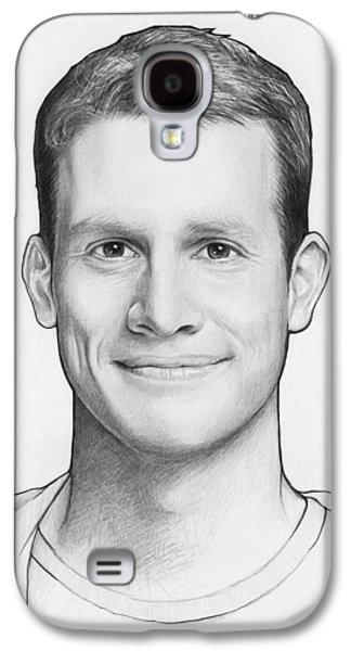Graphite Galaxy S4 Cases - Daniel Tosh Galaxy S4 Case by Olga Shvartsur